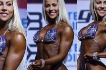 Heidrun Ertsås ble verdensmester i bodyfitness
