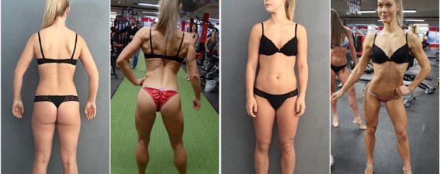 Bikinifitness-utøver Amelie Henriksen