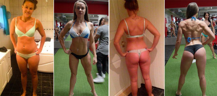 Bikinifitness-utøver Mia Ormseth Linvåg