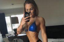 Bikinifitness-utøver Vivi Lagesen