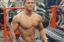 Men's Physique debutant Kristoffer Henæs (23)