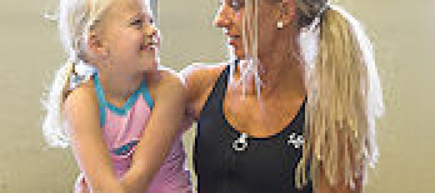 Ann Kristin Bundlie. Muskeldronning og mor