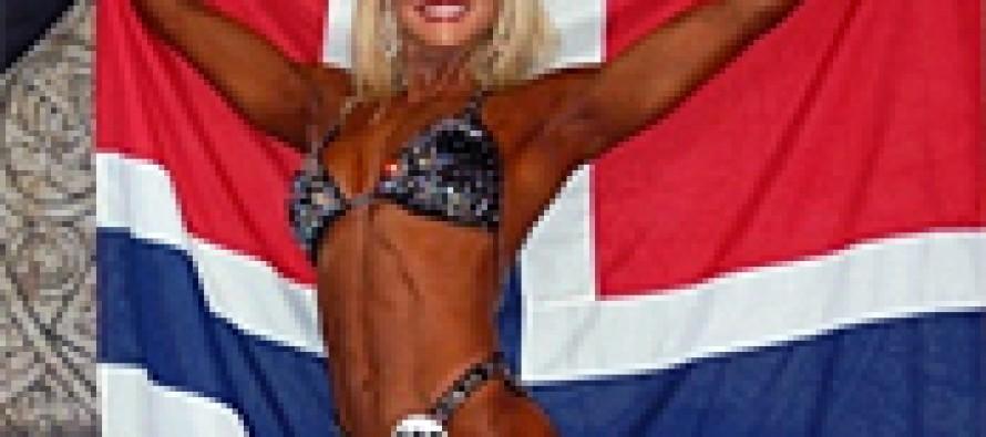 Verdens beste fitness-kropp er Norsk!