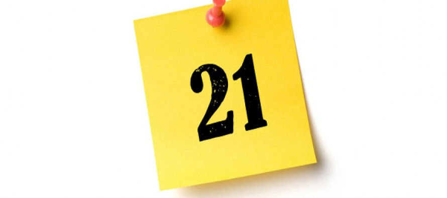 Du er bare 21 dager unna!