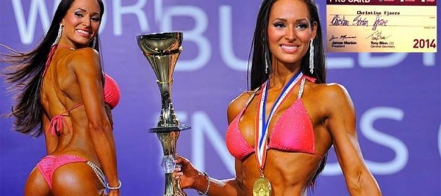Christina Strøm vant sin første proff konkurranse