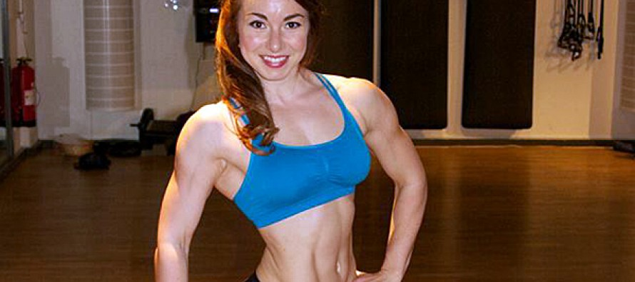Susanne Soydan debuterer i Fitness Model