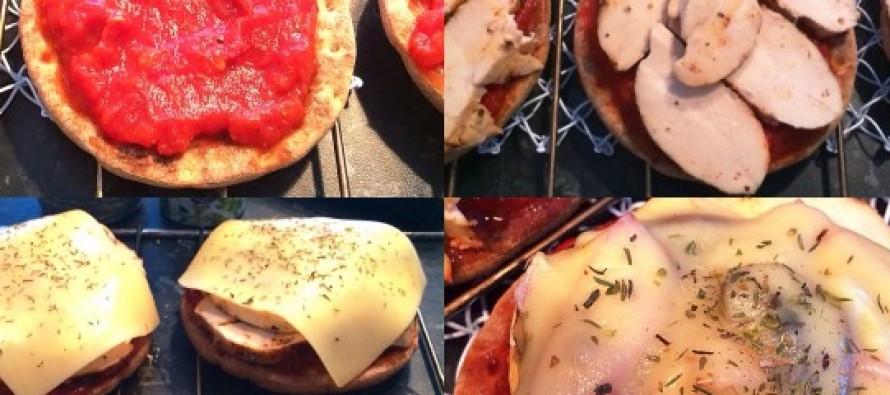 DIETTVENNLIGE PIZZA SLICES PÅ 1-2-3