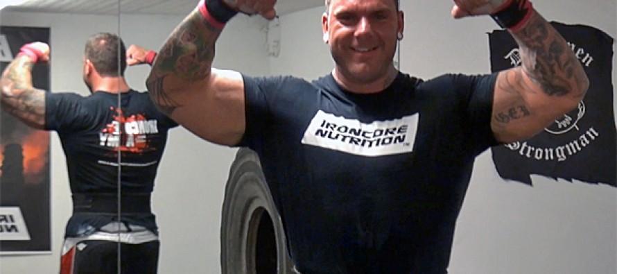 WEB-TV: Strongman Glenn Erik Iversen