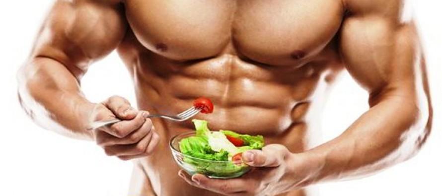 mat som bygger muskler
