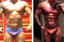 BODYBUILDING: Thomas er klar for å debutere i Classic Bodybuilding