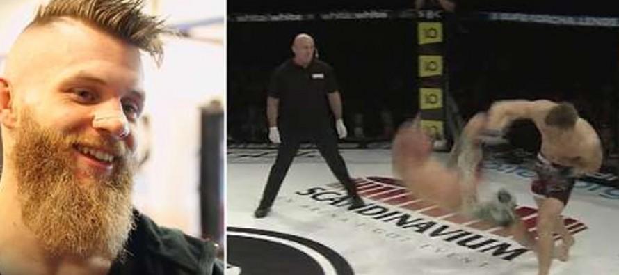 WEB-TV: MMA-proffen Emil Weber Meek fikk sin første seier etter skadeavbrekket.
