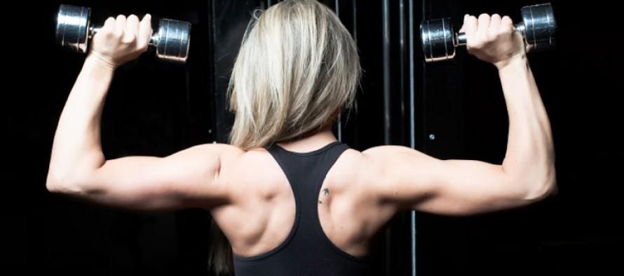 Kristine Hauge Førland: Fra kronisk syk – til fitness-scenen