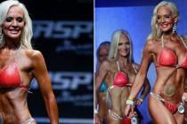 Hun er operert 34 ganger og har utlagt tarm, men nå har 33-åringen deltatt i NM i bikinifitness.