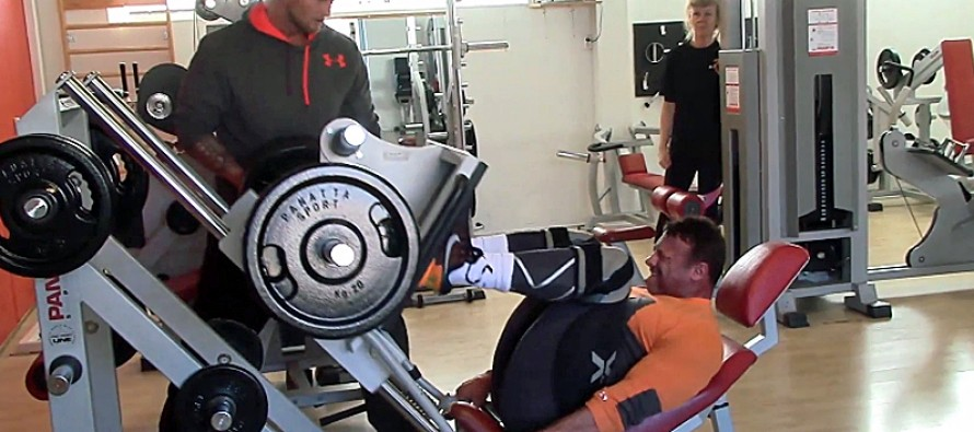 WEB-TV: Knut Øines – Leg day, 8 weeks before the world championship!!