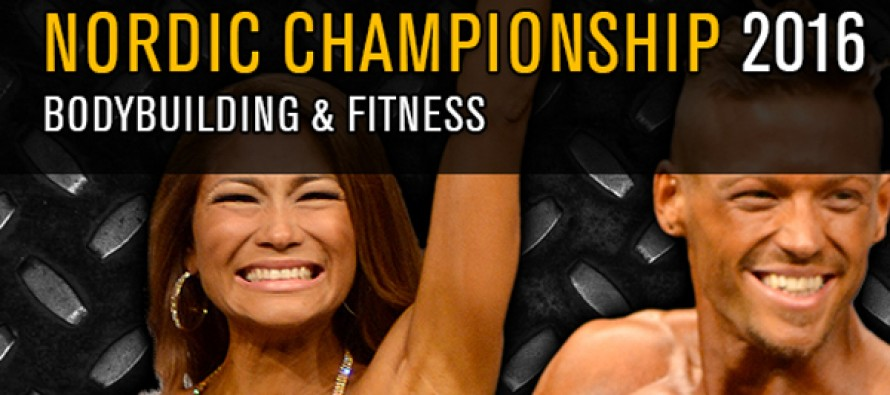 NORDIC	CHAMPIONSHIPS	i Bodybuilding & Fitness 2016 (resultater)