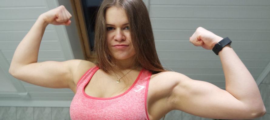 Line Sæstad Walstad – 17 år og debutant i bikini fitness