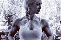 Marianne Risholm debuterte i bodyfitness på Sandefjord Open