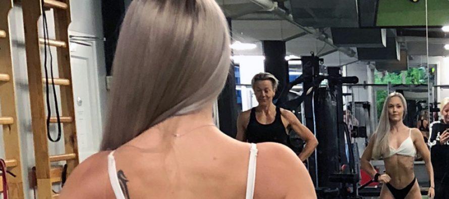 Bikinifitness debutant Andrea Isaksen Schmidt