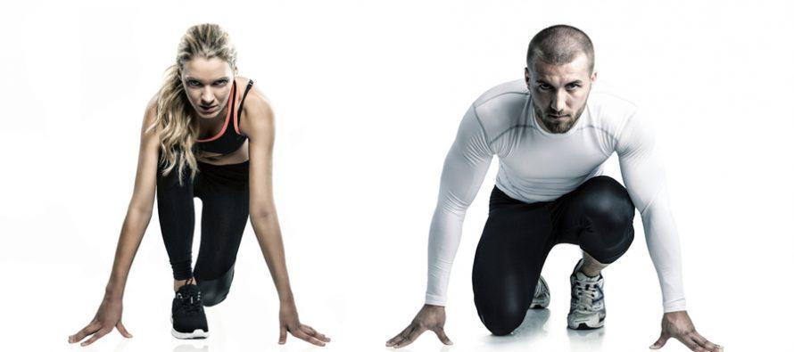 Kjønnsforskjeller i kroppskomposisjon og styrke