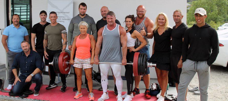 WEB-TV: Knut Øines sin spesial komponerte styrkeprøve for venner og bekjente