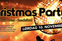 Årets fitness juleparty i Sandefjord.