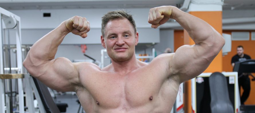 WEB-TV: På trening med Patrick Alexander Paulsen