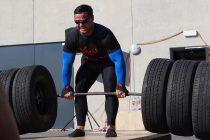 WEB-TV: På trening med strongman Kjetil Finnes