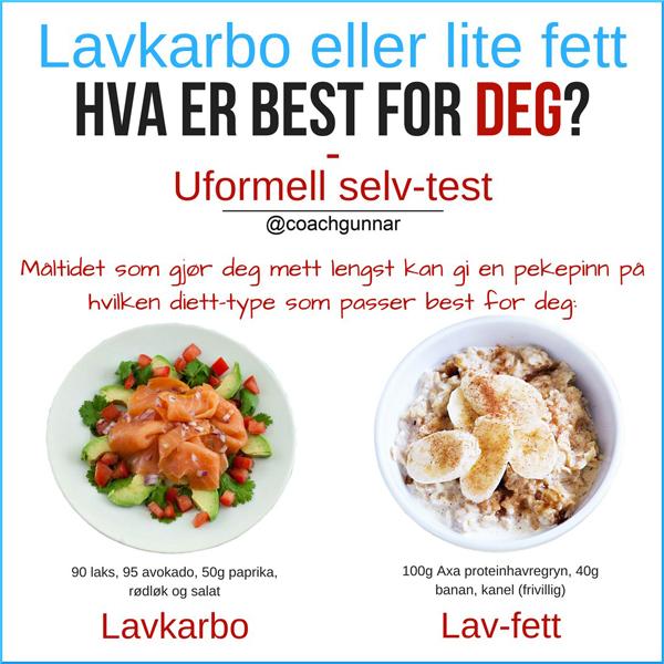 mat med lite fett