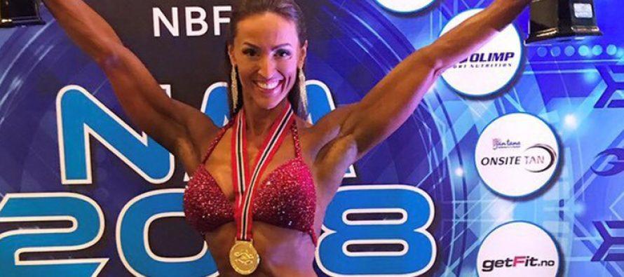 WEB-TV: På trening med IFBB ELITE PRO Marte Lian