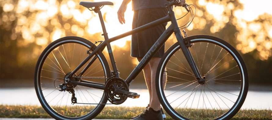 I knallform på sykkel