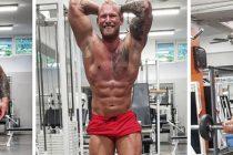 WEB-TV: På trening med IFBB Men`s physique athlete Marius Gangmark