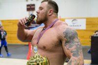 WEB-TV:Hva spiser Norges sterkeste mann
