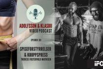 Adolfsson & Klasbu – iForm.no Podcast – Episode 12 – Spiseforstyrrelser og kroppspress