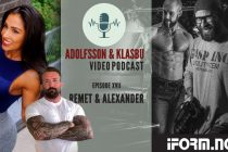 Adolfsson & Klasbu – iForm.no Podcast – Bikinifitness, coaching og MMA med Remet og Alexander