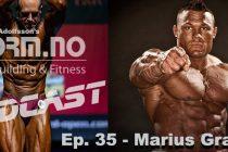 iForm.no – Bodybuilding & Fitness Podcast – Ep. 35 – Marius Graatrud